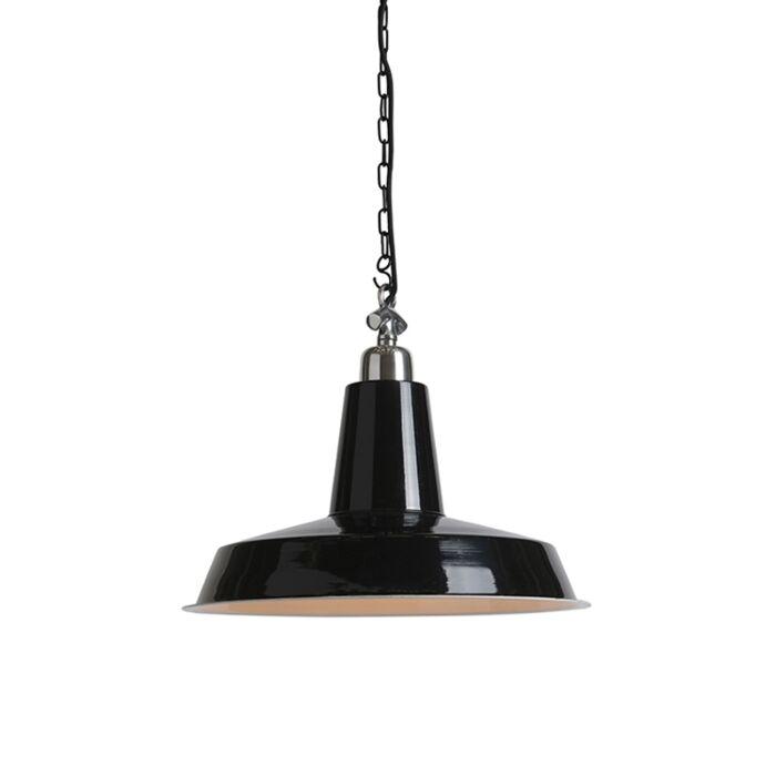Lámpara-colgante-industrial-negra---WARRIOR