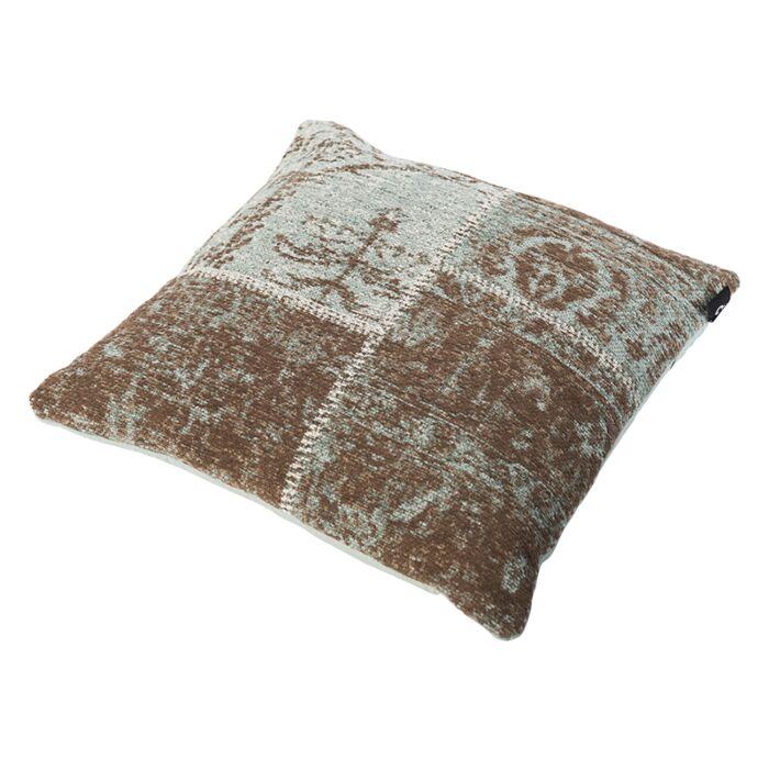 Cojín-vintage-cuadrado-turquesa-45-x-45cm---AGRA