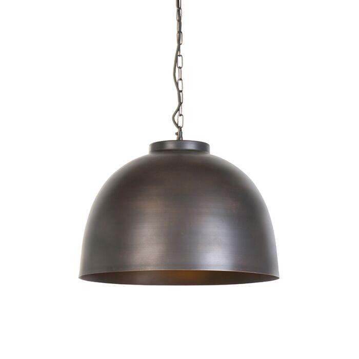 Lámpara-colgante-industrial-marrón-45.5cm---HOODI