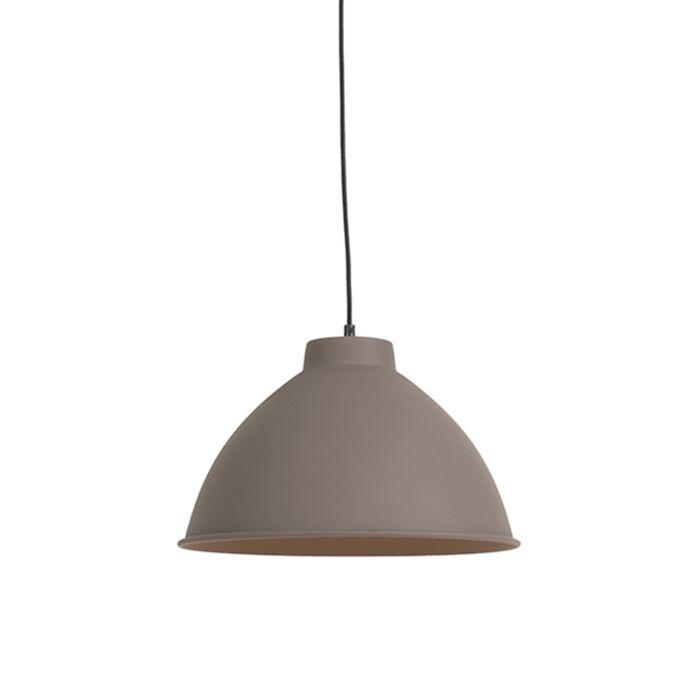 Lámpara-colgante-nórdica-marrón--ANTERIO-38-Basic