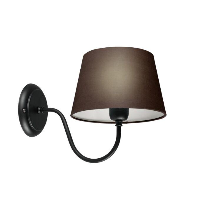 Aplique-COMBI-Classic-negro-con-pantalla-20cm-gris-marronáceo