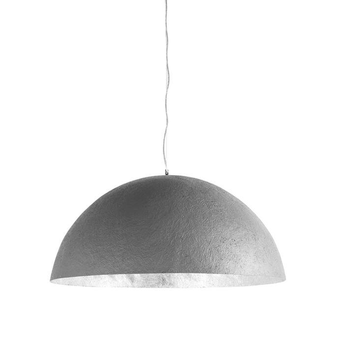 Lámpara-colgante-MAGNA-70-color-hormigón--plata