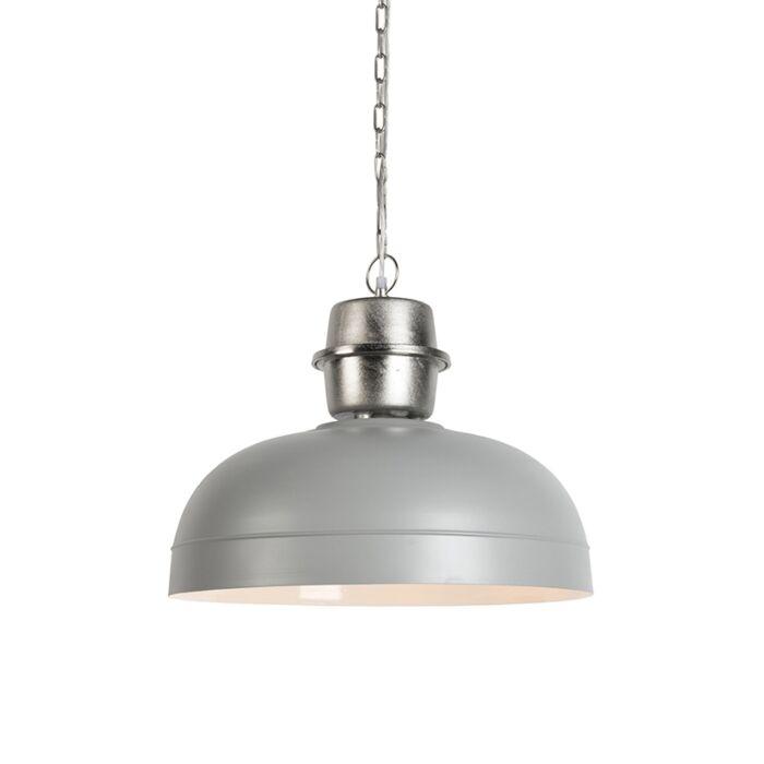 Lámpara-colgante-retro-gris---SANI