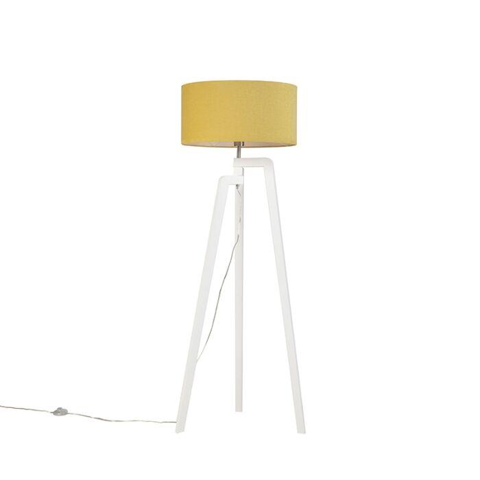 Trípode-moderno-blanco-pantalla-maíz-50cm---PUROS