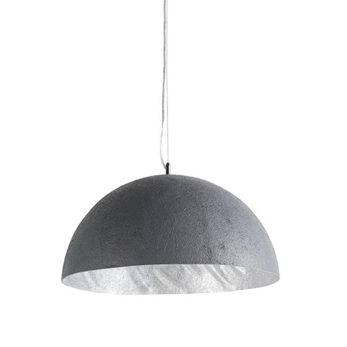 Lámpara-colgante-MAGNA-50-color-hormigón--plata
