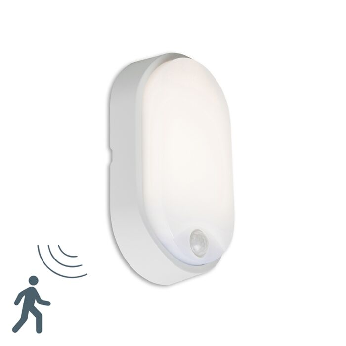Aplique-HORTUS-LED-con-sensor-PIR-IP54-ovalado-gris