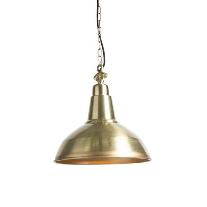 Lámpara-colgante-Art-Deco-oro/latón---GOLIAT-Large