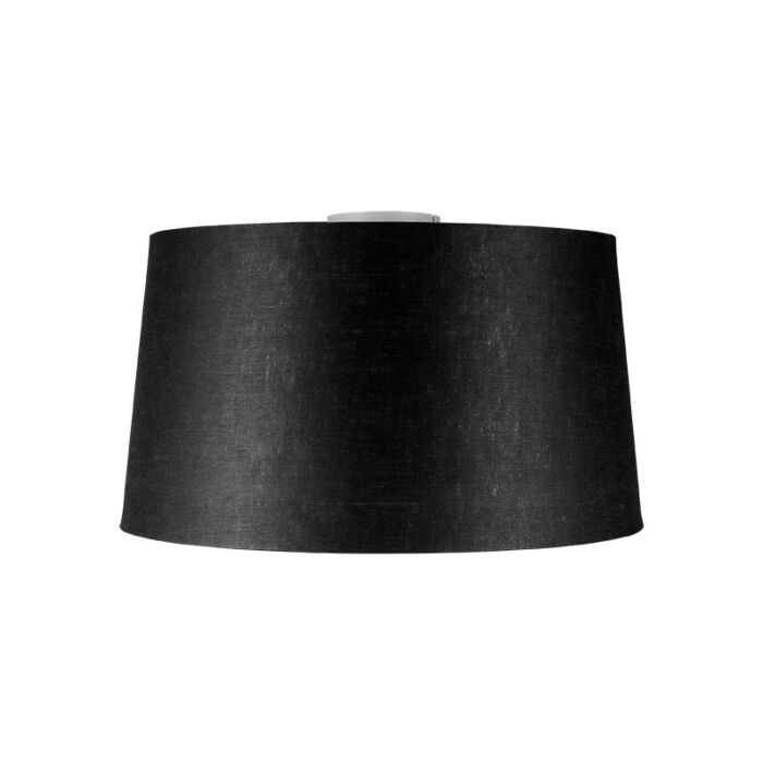 Plafón-moderno-blanco-pantalla-negra-45cm---COMBI