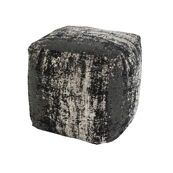 Puf-vintage-cuadrado-negro-45-x-45-x-45cm---KOCHI