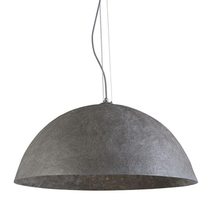 Lámpara-colgante-MAGNA-70-gris---plata