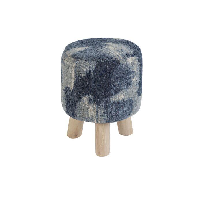 Taburete-redondo-vintage-azul-30-x-30-x-40cm---PURI