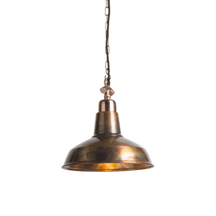 Lámpara-colgante-vintage-cobre---Goliat-mediano