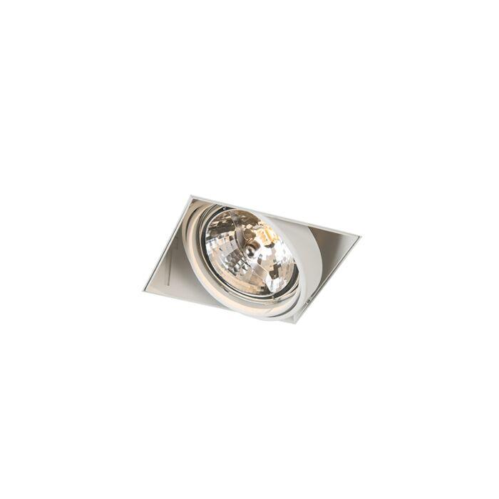 Foco-empotrable-blanco-AR111-orientable-trimless---ONEON-
