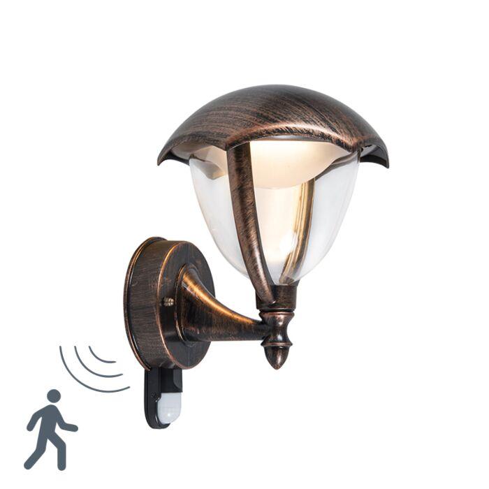 Aplique-vintage-óxido-envejecido-con-sensor-de-movimiento-IP54-LED---CAPPE-UP