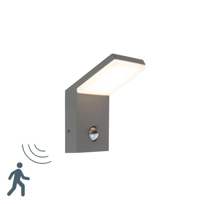 Aplique-moderno-gris-oscuro-con-sensor-de-movimiento-IP44-LED---MAPI