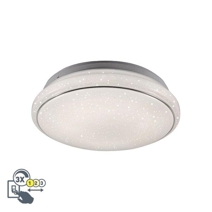 Plafón-moderno-blanco-LED-regulable-3-estados---MARS