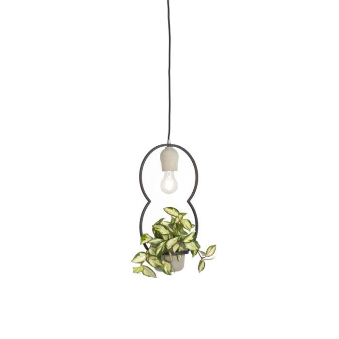 Lámpara-colgante-rústica-hormigón---FAUNA-C