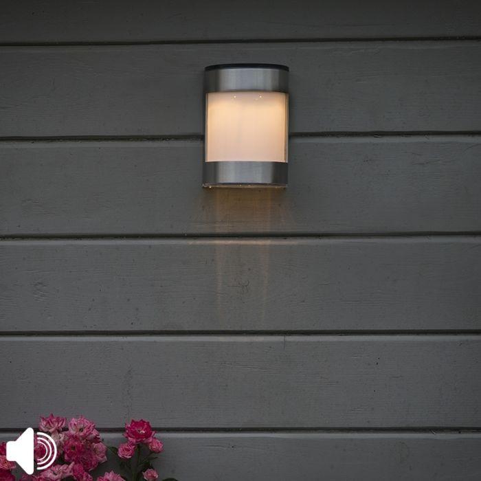 Aplique-solar-acero-IP44-LED---BOSTON