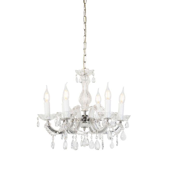 Lámpara-de-araña-brazo-C-6-luces---MARIE-THERESA