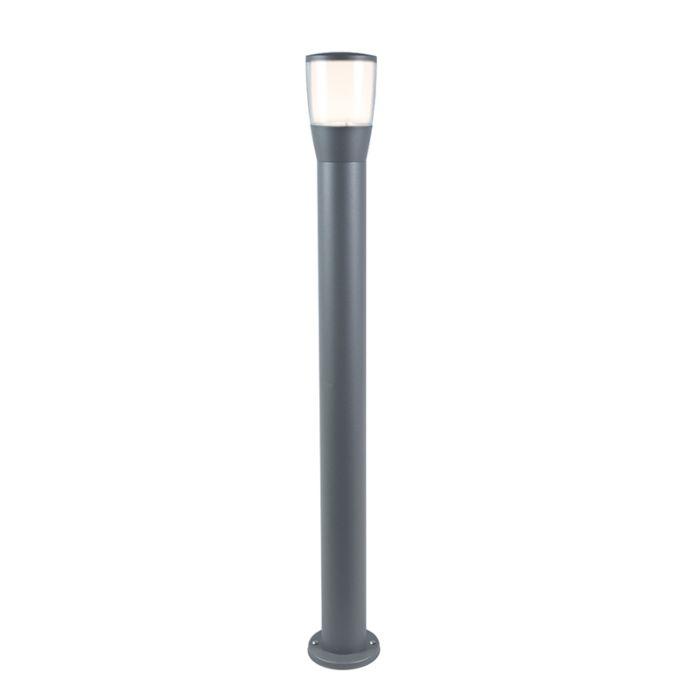 Baliza-moderna-gris-100cm-LED---MONA