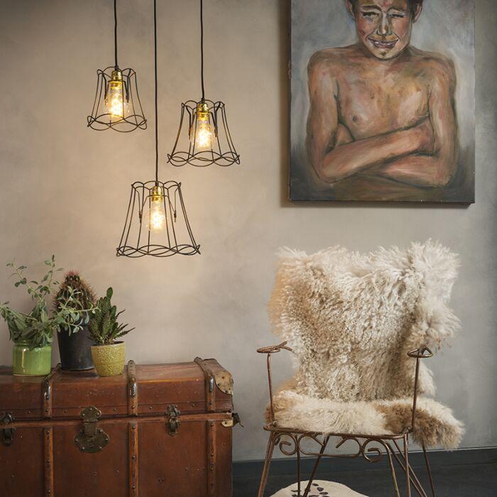 Lámpara-colgante-retro-negra---GRANNY-Frame-3