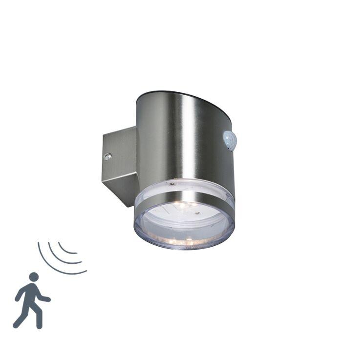 Aplique-BORE-LED-acero-con-sensor