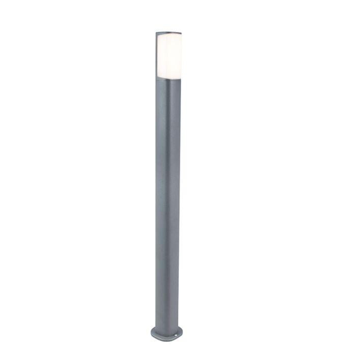 Baliza-moderna-gris-oscuro-100cm-LED---RICO