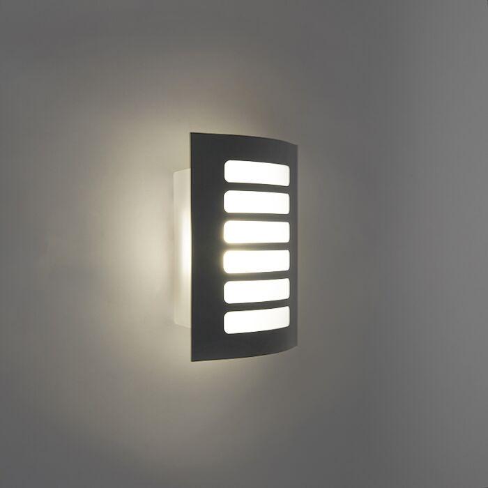 Aplique-GRID-LED-gris-oscuro