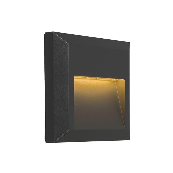 Set-de-2-apliques-modernos-gris-oscuro-LED---GEM-2