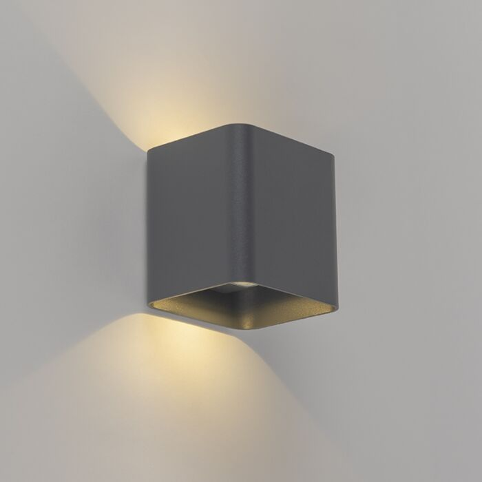 Aplique-moderno-cuadrado-antracita-LED-IP54---EVI-