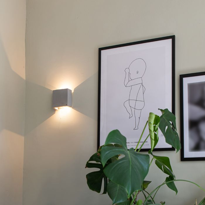 Aplique-industrial-gris-con-LED---CAJA