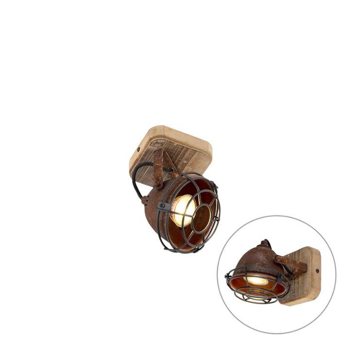 Foco-industrial-óxido-madera-orientable---GINA