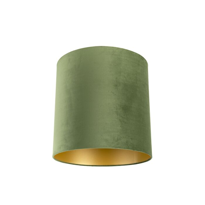 Pantalla-terciopelo-verde-40/40/40-interior-dorado