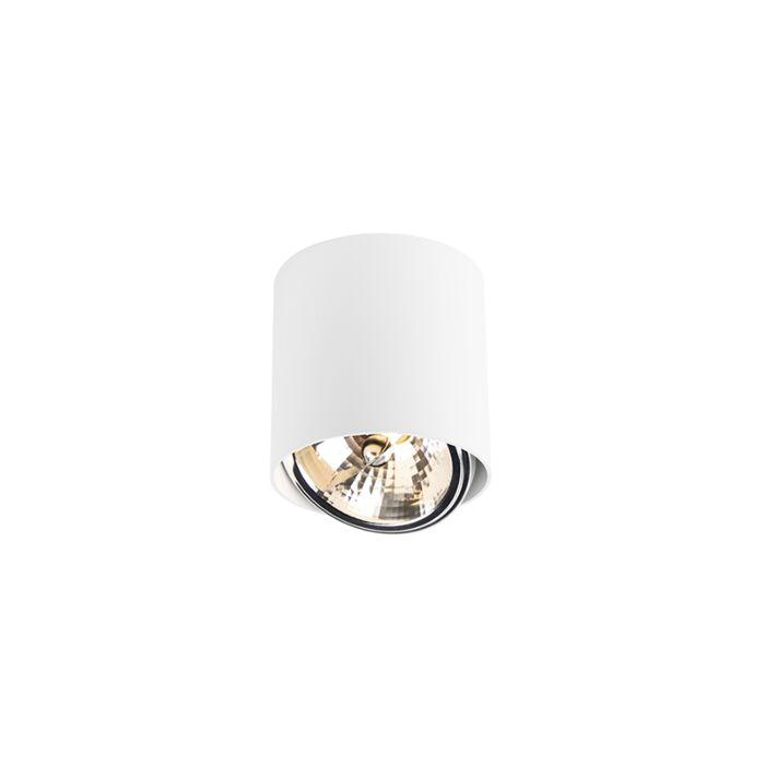 Foco-diseño-redondo-blanco-1-luz---IMPACT-Up-G9