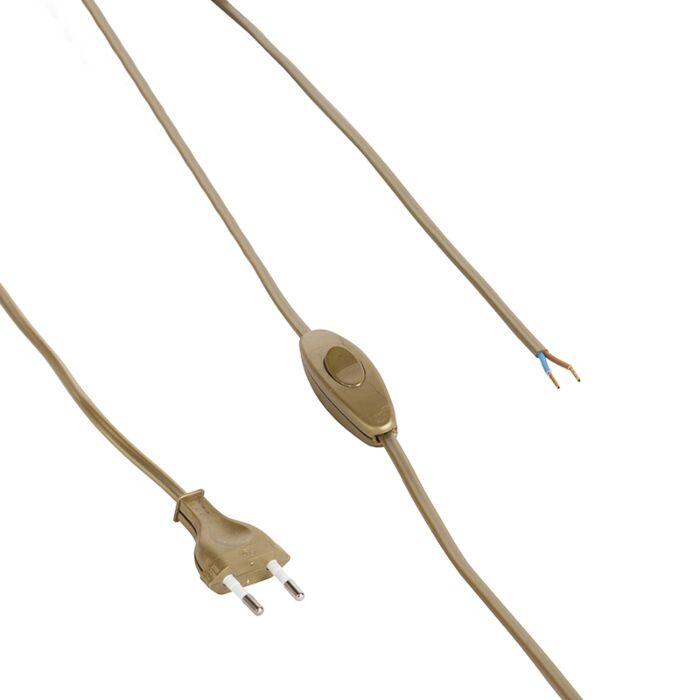 Cable-80-120-interruptor-enchufe-dorado--necesita-disponer-de-una-lámpara
