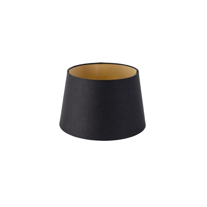 Pantalla-algodón-negro/oro-25/20/16-