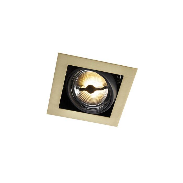 Foco-empotrado-latón-orientable-1-luz---ONEON-111-1