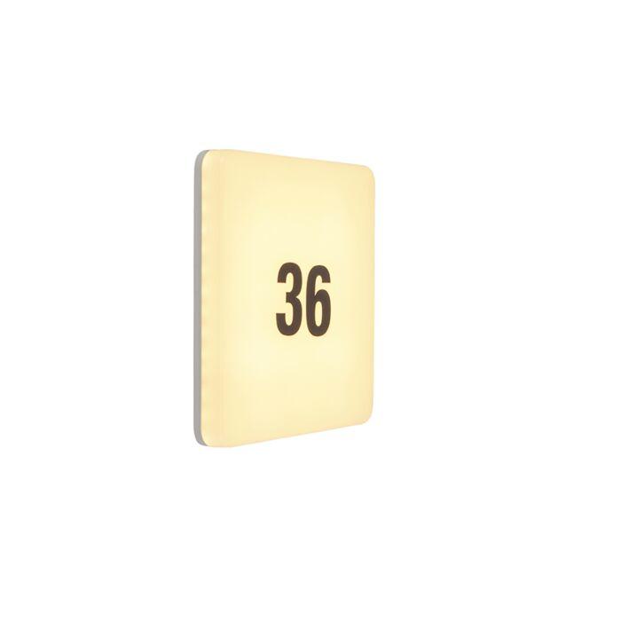 Aplique-cuadrado-moderna-LED-pegatinas-IP65---PLATER