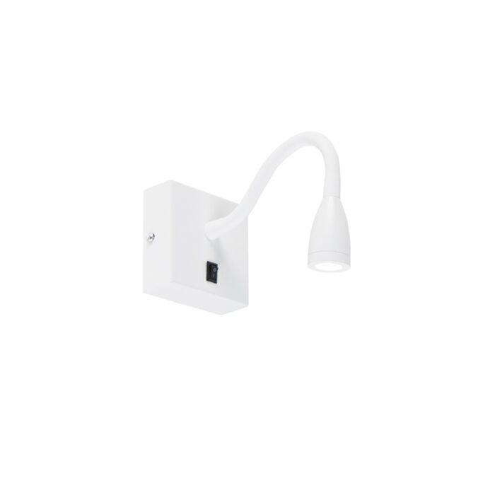 Aplique-moderno-flexible-LED-blanco---Flex