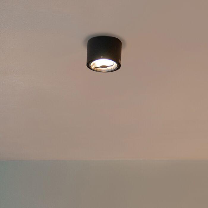Foco-moderno-negro-AR111-LED---EXPERT