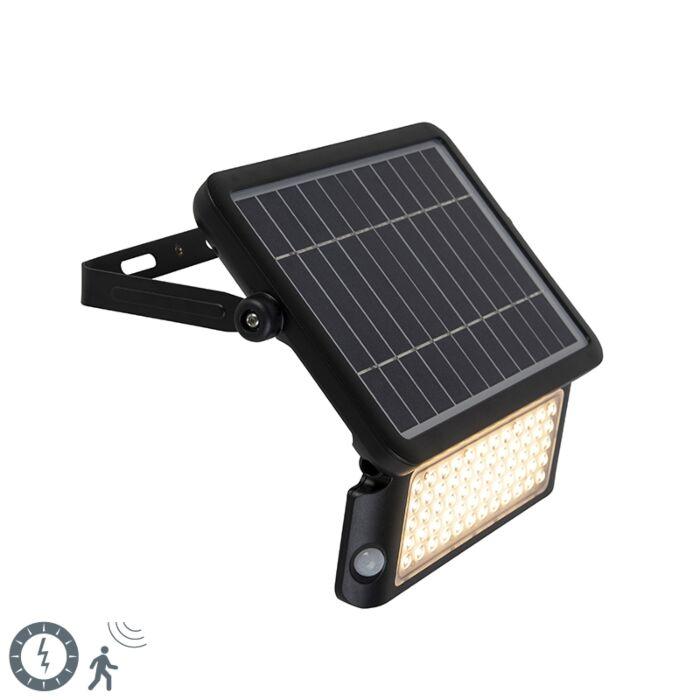 Proyector-negro-LED-sensor-movimiento-IP65-solar---TEHO