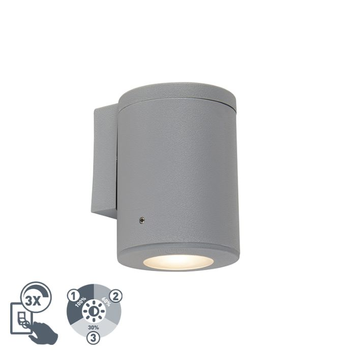 Aplique-moderno-gris-IP55-GU10---FRANCA
