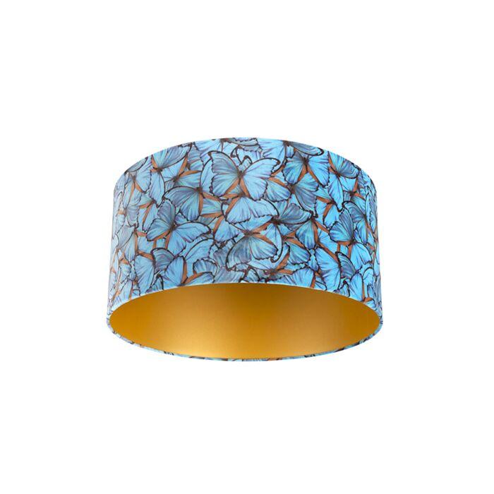 Pantalla-terciopelo-diseño-mariposa/oro-50/50/25-