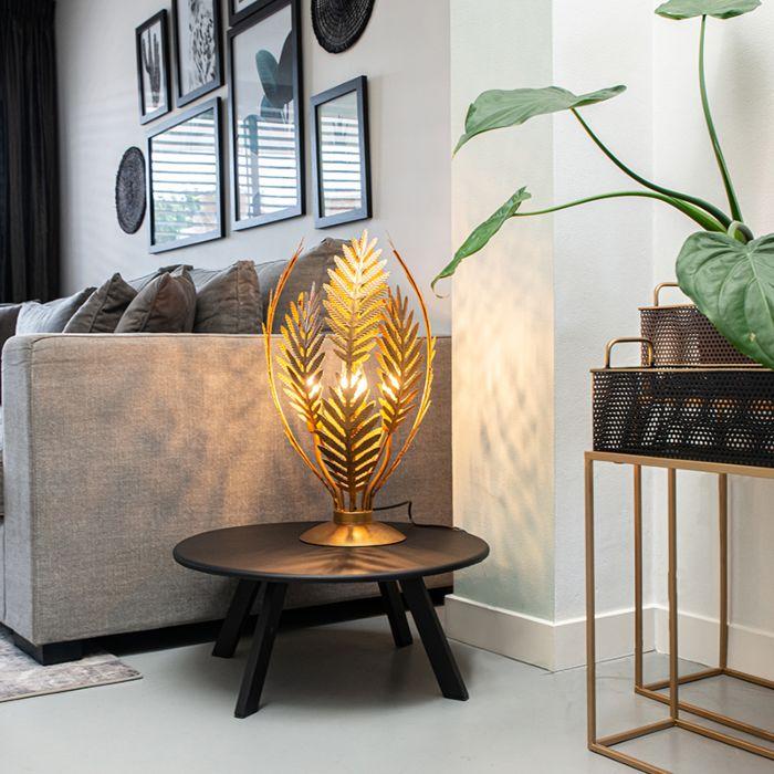Lámpara-de-mesa-vintage-grande-oro---BOTANICA