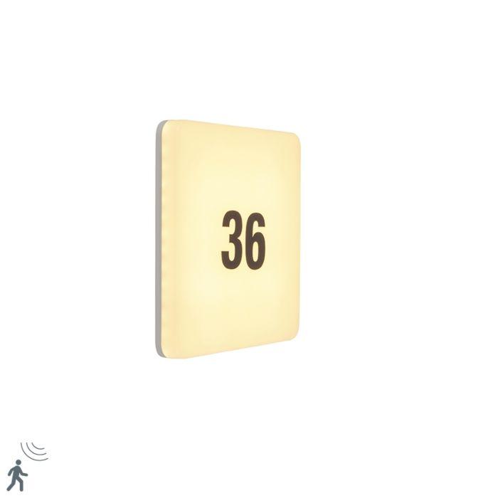 Aplique-cuadrado-blanco-movimiento-LED-pegatinas-IP65---PLATER