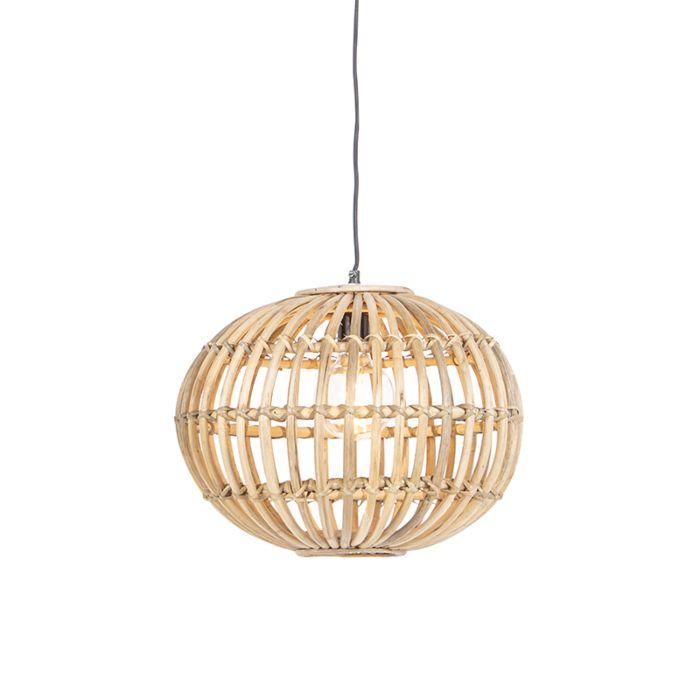 Lámpara-colgante-rústica-bambú---CANNA