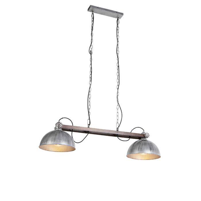 Lámpara-colgante-industrial-zinc---HATHI