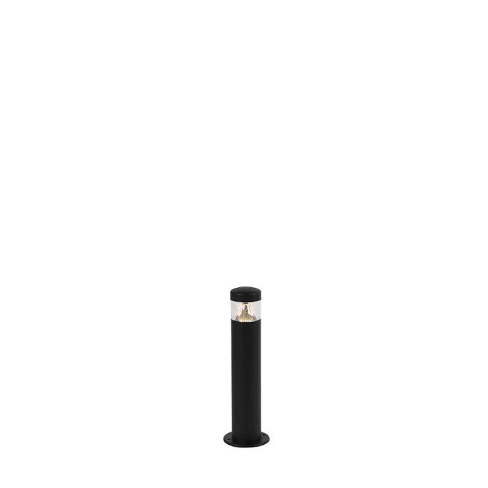 Baliza-moderna-negra-40cm-IP44-LED---ROXY