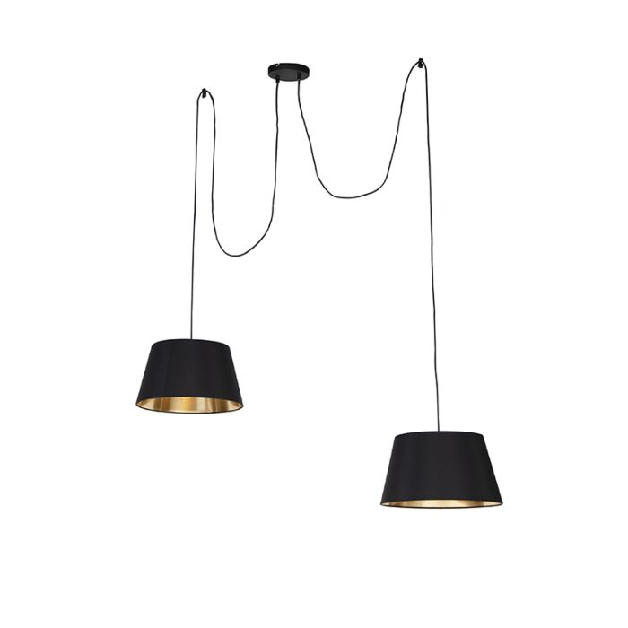 Lámpara-colgante-moderna-negra---LOFTY