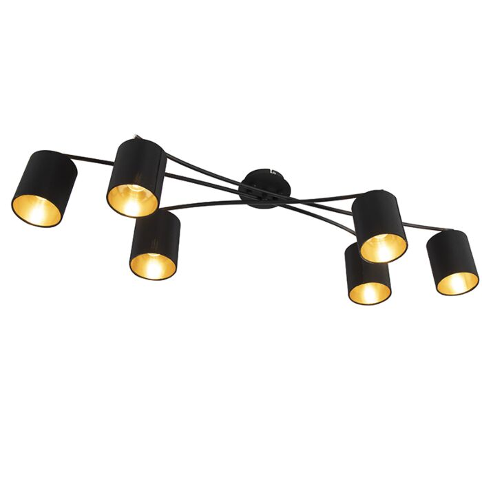 Plafón-moderno-negro-6-luces---LOFTY-